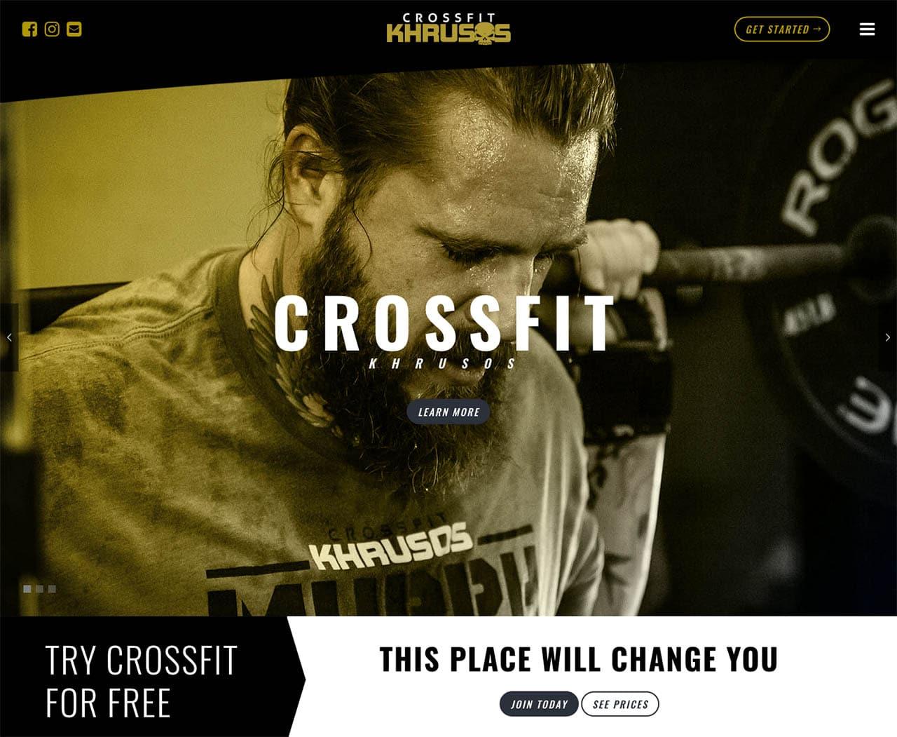CrossFit Websites